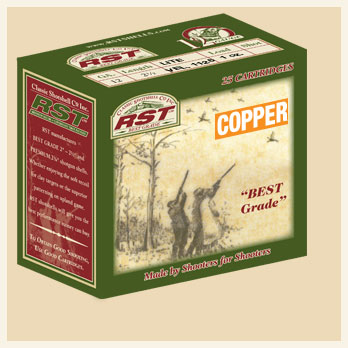 "12 Ga. • 2 1/2"" • Lite • Vel. 1175 • 1 oz. Load • Copper Plated Lead - Box"